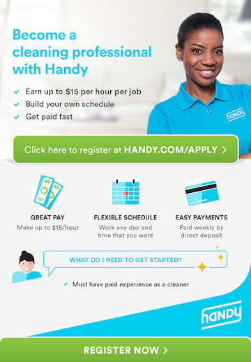 NEED WEEKEND CLEANERS TO START THIS WEEK – up to 15/hr, Paid Weekly